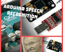 Voice Recognition ,Arduino