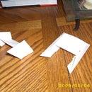 Origami TIE Fighters