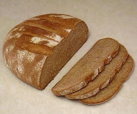 Hand Made Whole Wheat Bread.  Easy with Basic Kitchen Utensils.