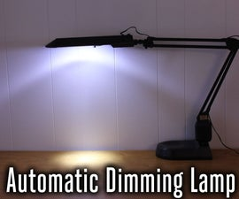 LED Lamp With Sleep Timer