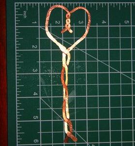 Hammered Copper Bookmarks - Easy