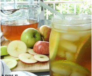 Refreshing Apple Iced Tea