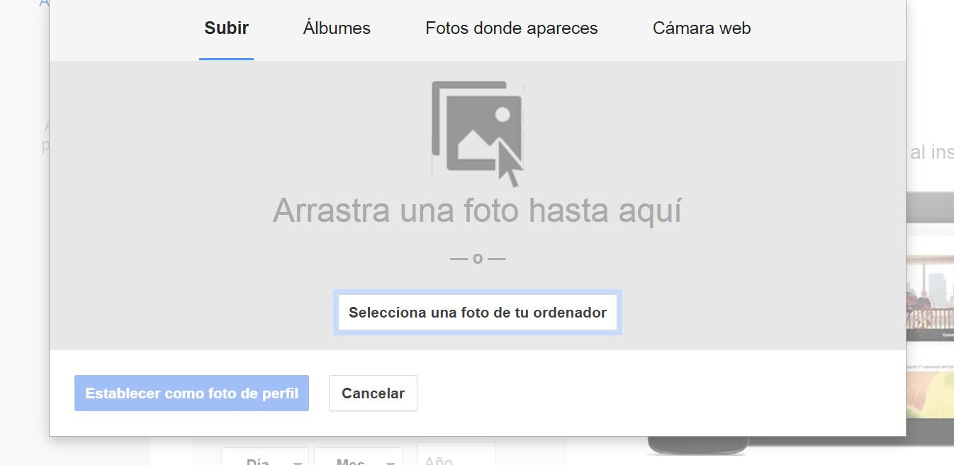 Picture of Dar De Alta Google Plus