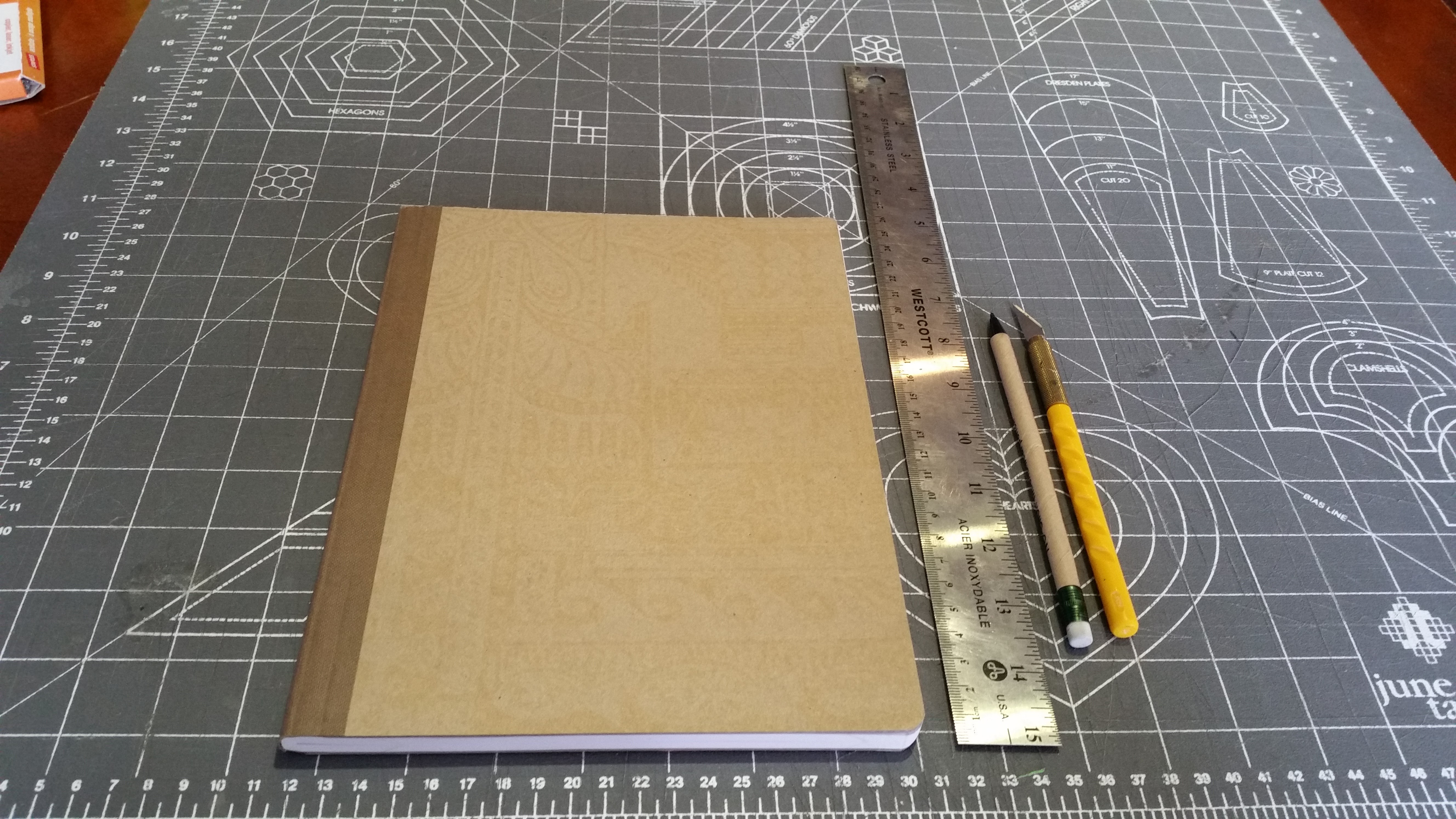 Picture of Cutting the Notebook