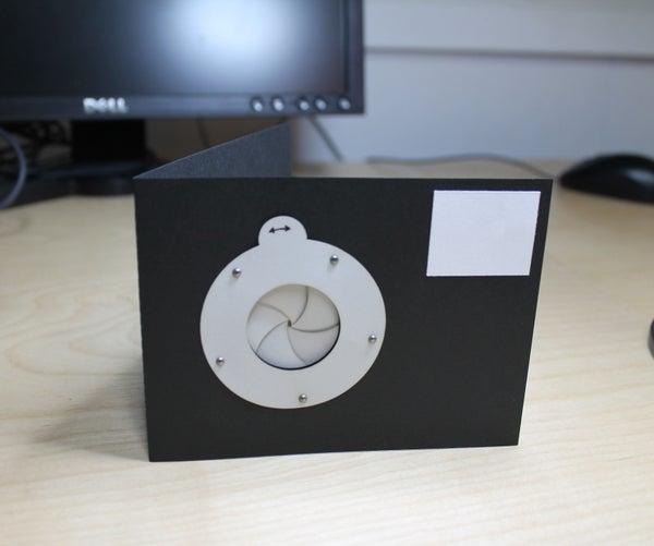 Mechanical Iris Card - Improved!