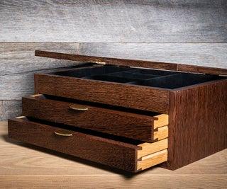 Making a Modern Jewelry Box
