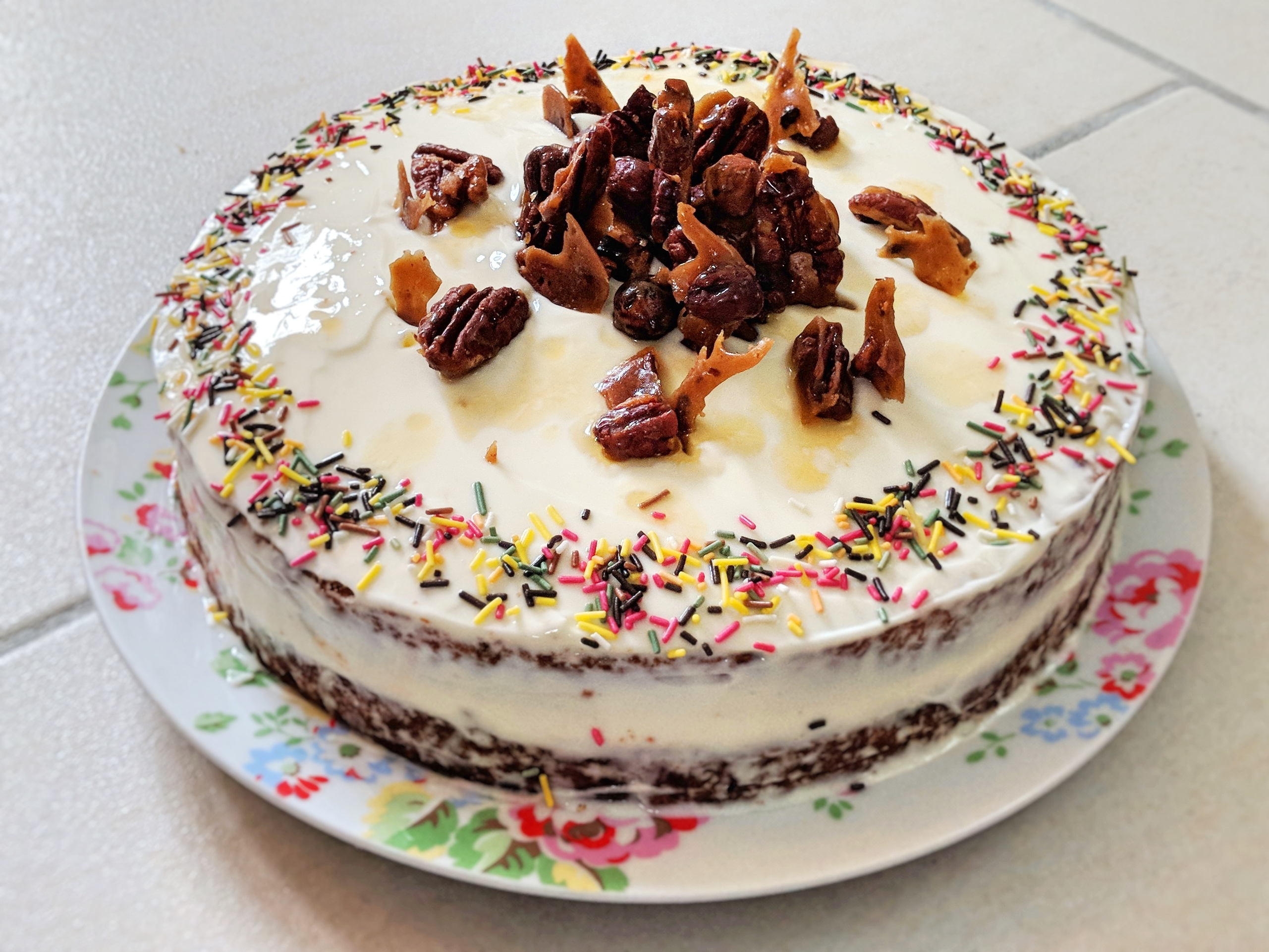 Picture of Winning Carrot and Parsnip Cake (with Maple Cream Cheese Frosting)