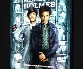 Homemade Movie Poster Light-box