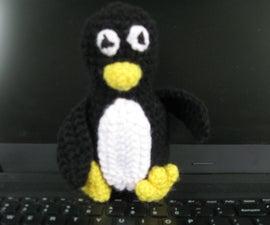 Crochet Penguin Tuxe