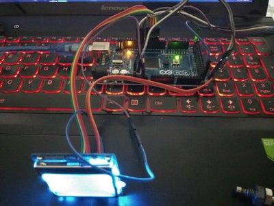 Arduino + Thermocouple + Nokia 5110 LCD