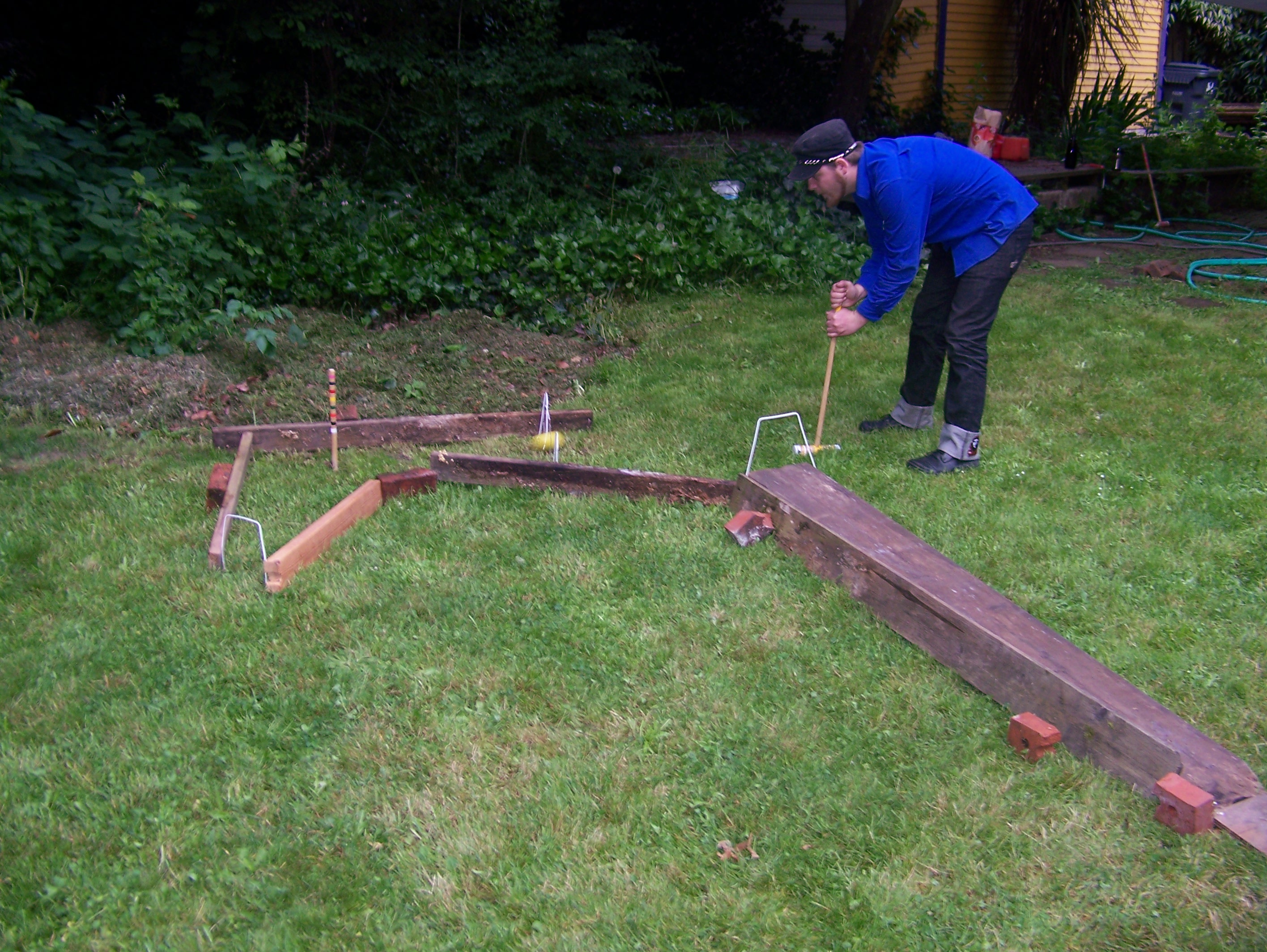 Picture of Example Course Part 4:  Turning Stake Turnaround