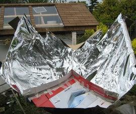 Kyoto trough solar cooker mimics a parabolic dish without a thousand cuts!