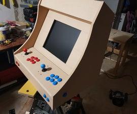 Bartop Arcade MDF + Raspberry