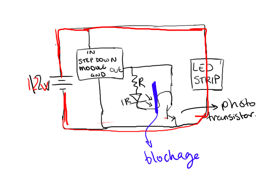 Picture of Automatic LED turn on and off circuit, can someone check my circuit to see if it will work?
