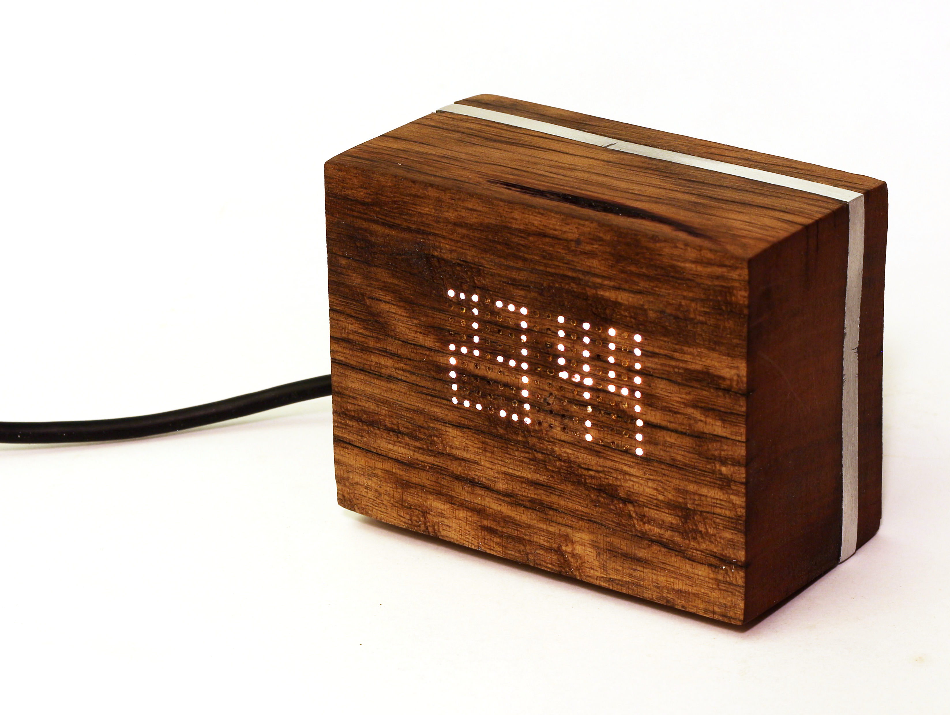 Picture of Making a Wooden LED Clock