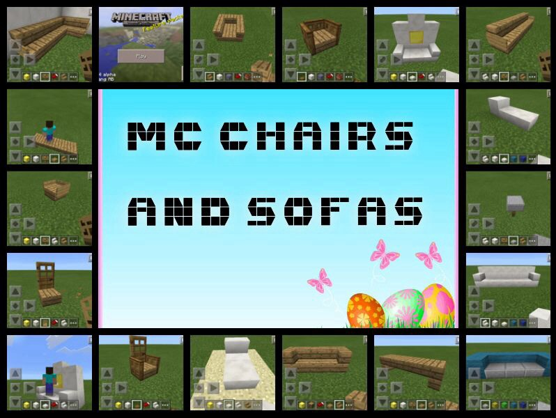 Picture of Minecraft Chairs and Sofas