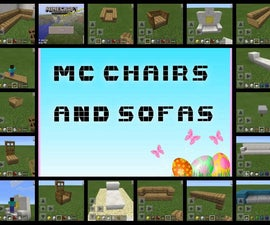 Minecraft Chairs And Sofas