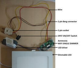 MAKING OF DIMMABLE LED MOUNTING BOX