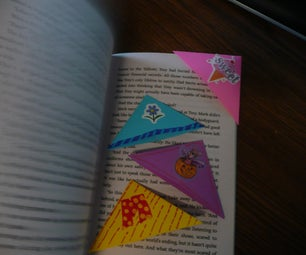 How to Make an Easy Origami Bookmark