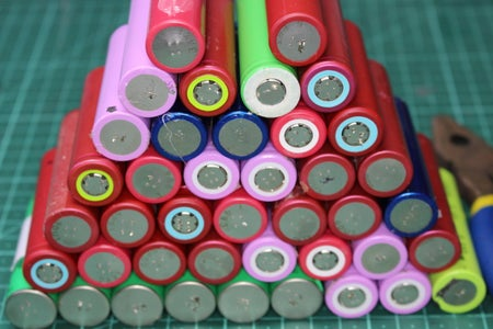 Salvaging Rechargeables for Projects