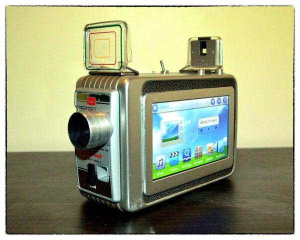 Brownie 8mm Movie Camera - Mini Media Centre