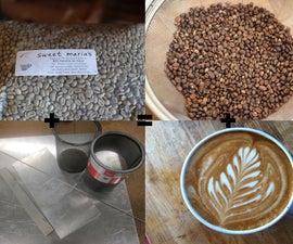 How to make a coffee roaster