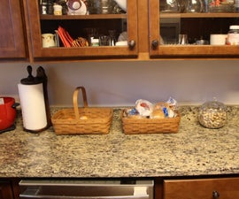 Under Kitchen Cabinet LED Strip Lights for Under $30.00!