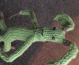 Knit Your Own Pickett the Bowtruckle!