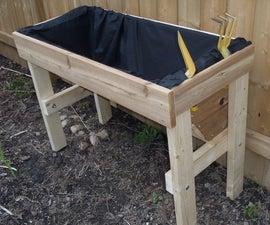 Versatile Wooden Planter