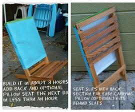 Folding Festival/camp/beach/go Anywhere Chair