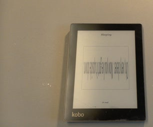 Fit a New Screen to a Kobo Aura Ebook