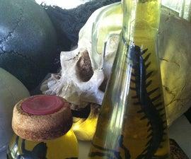 DIY Halloween Creepy Jars