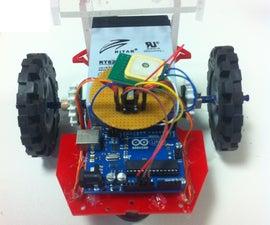 GPS Guided Autonomous Rover