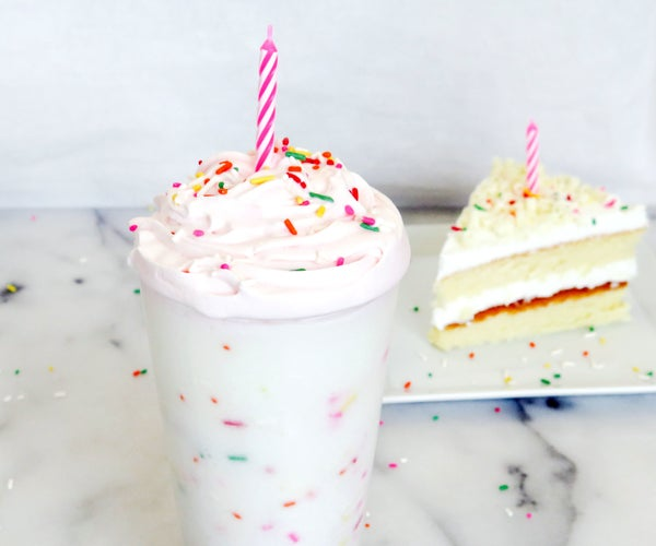 Birthday Cake Frappuccino Recipe