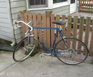 Replacing Bike Tire and Tube on a Road Bike