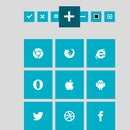 CSS3 Metro Style Icons - Tutorial with Free Download Permission