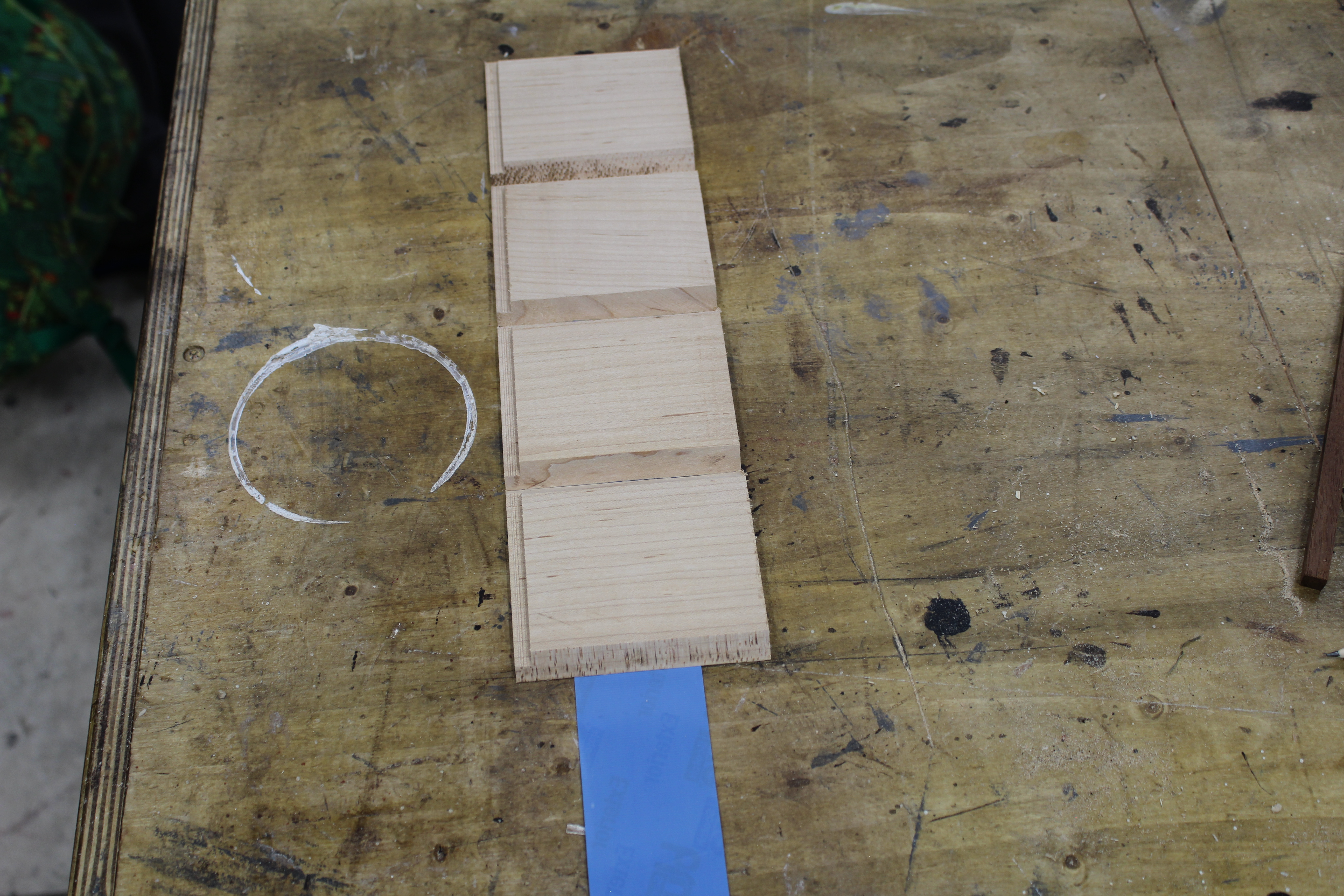 Picture of Prepare the Bottom Piece and Get Ready for Glue Up.