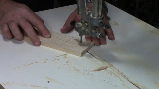 Rough Cut the Blade Out of the Blank.