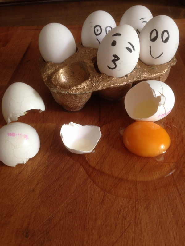 Picture of Placing the Eggs