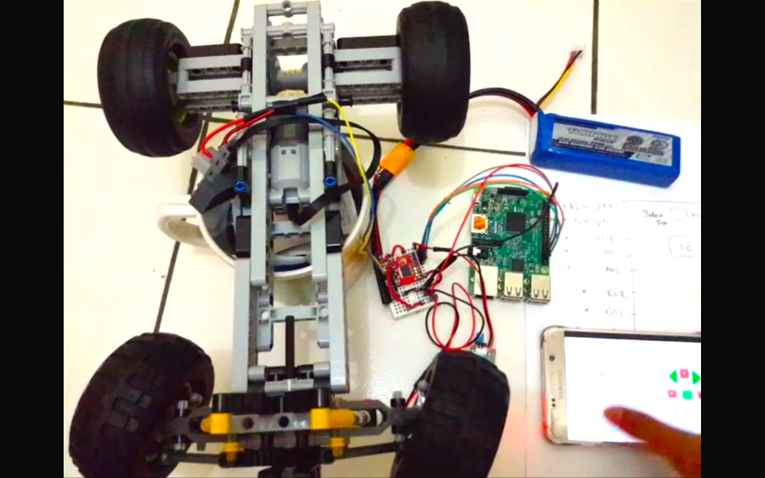 Picture of DIY - Control Off-road Lego Car Through Internet (IoT) - Part 1 (Back Wheel)