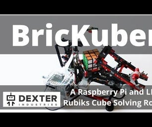 BricKuber Project – a Raspberry Pi Rubiks Cube Solving Robot
