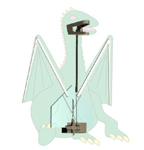 HOW THE MECHANISM SHOULD GO INSIDE OUR DRAGON
