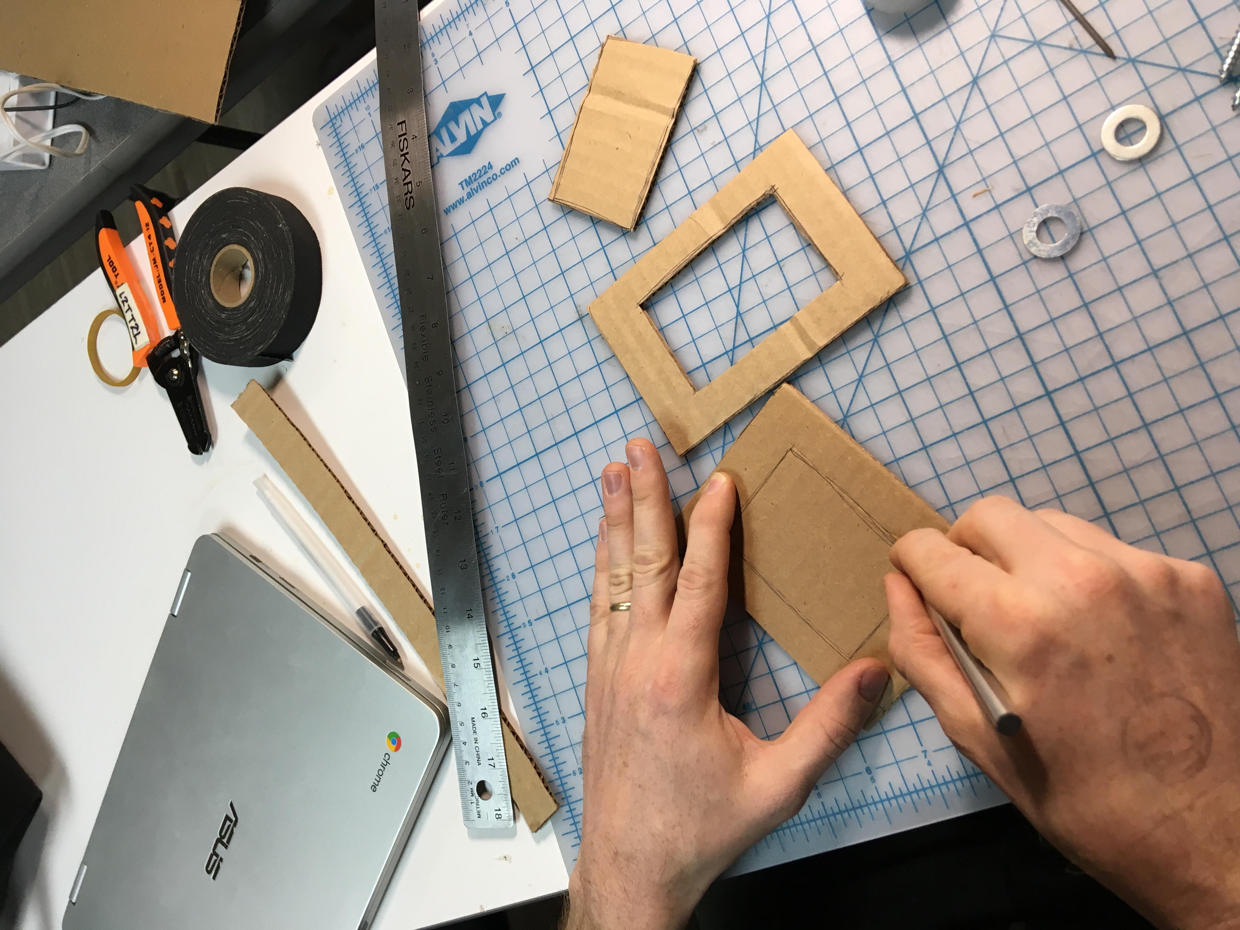 Picture of Cutting Cardboard