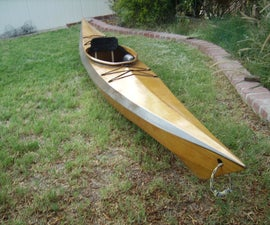 Stitch and Glue Kayak