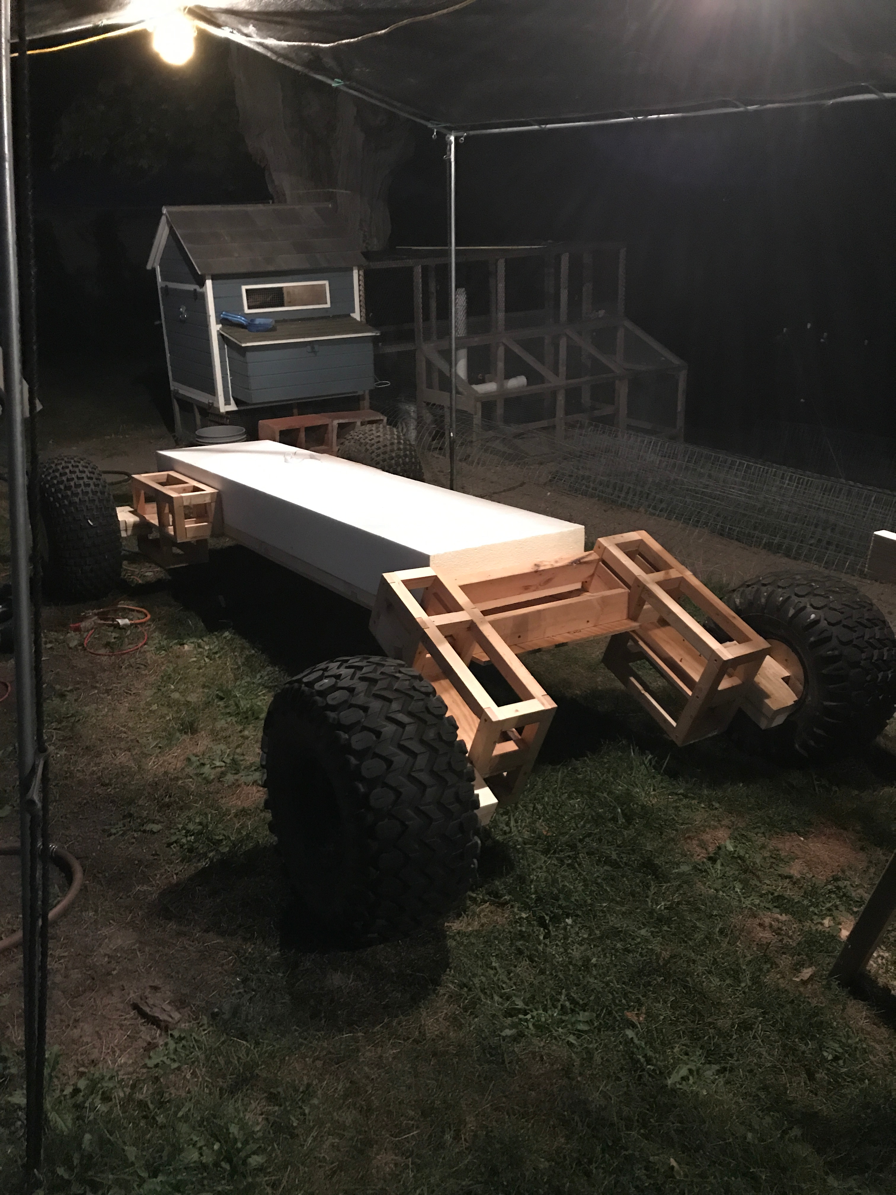 Picture of Base Frame and Tires
