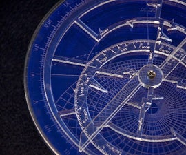 How to Build a Customized Astrolabe Using a Laser Cutter