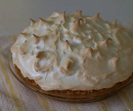 Lemon Meringue Pie with Coconut Crust (Gluten Free!)