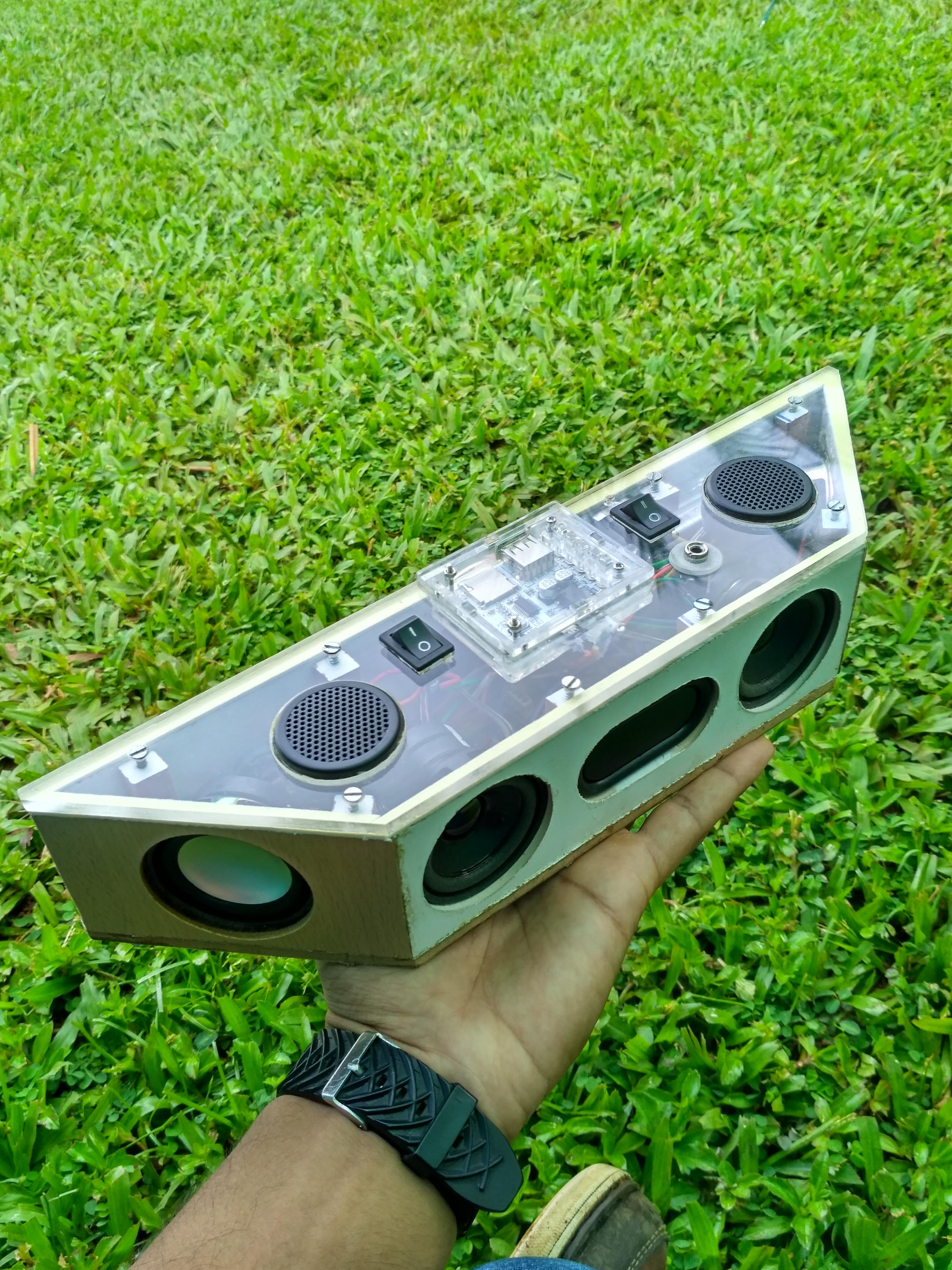 Picture of Hand Built Full Range Portable Bluetooth Speaker