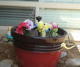 simple water fountain