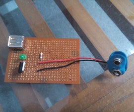 HOW TO MAKE SIMPLE POWER BANK